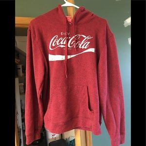 Coca Cola hooded sweatshirt